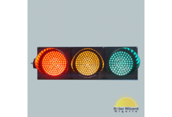 300mm Clear Lens RGY Full Ball LED Traffic Light