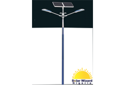 Double Arm Street Light Pole(6meters)