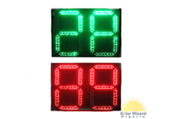 400x400mm Two Digits and Tri-color LED Countdown Meter