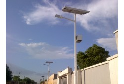 Single Arm Street Light Pole S02