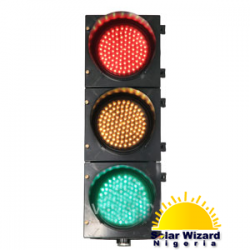 400mm RYG Clear Lens Full Ball LED Traffic Light